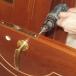 Ремонт просевшей двери своими руками