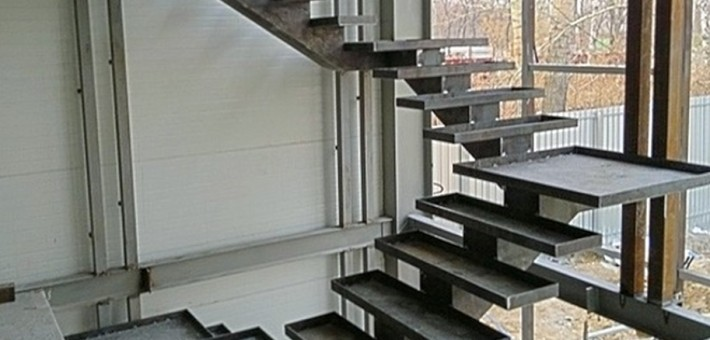 Лестницы из металла в Брянске