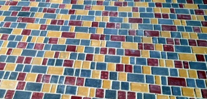 Где может использоваться тротуарная плитка?