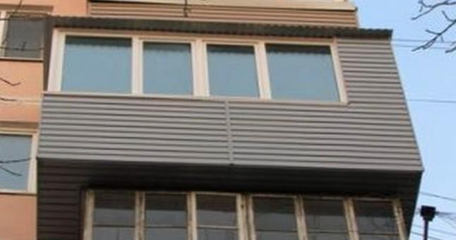 Как установить крышу на балкон?